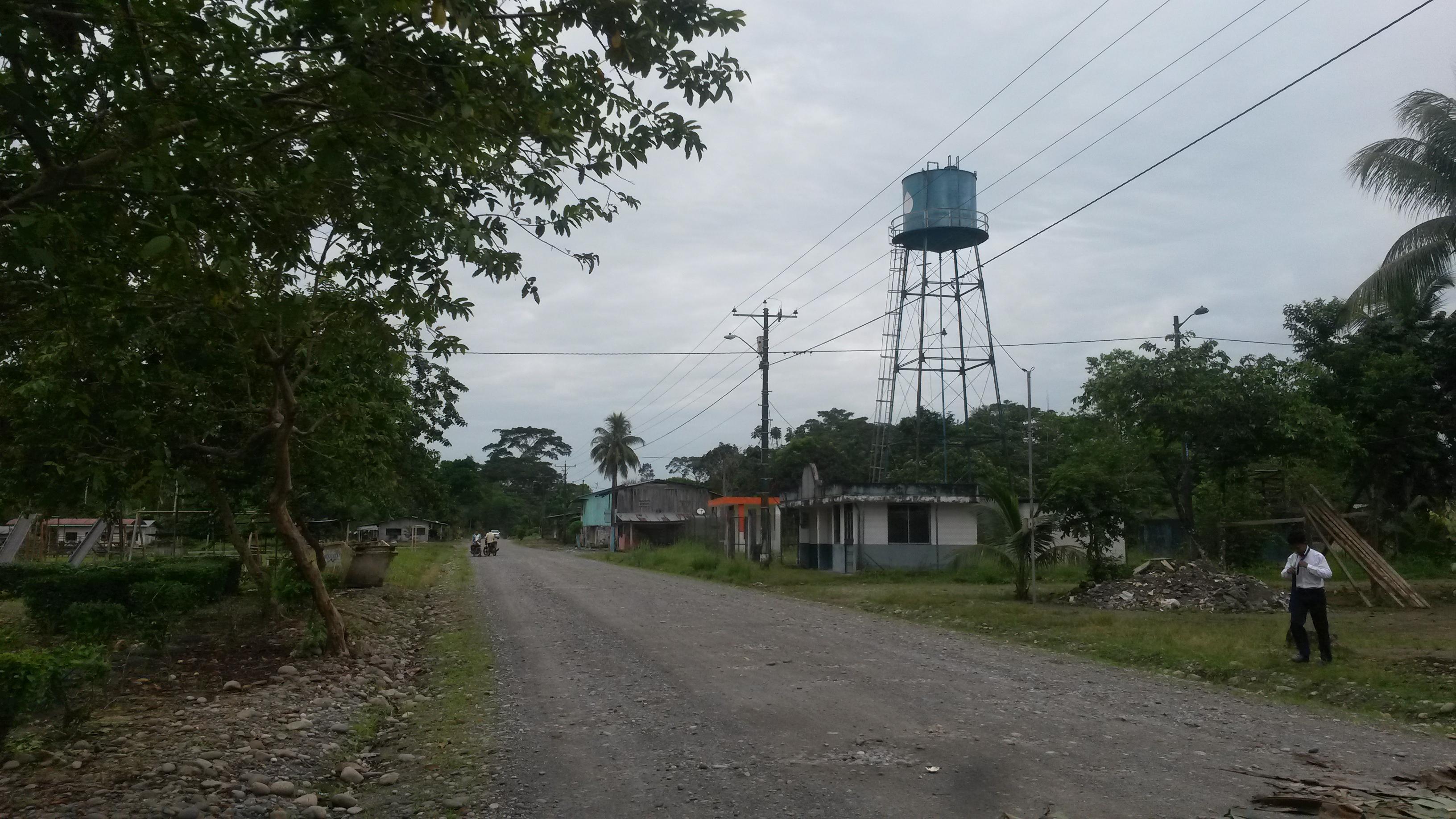 Tanque de Agua Comunitario