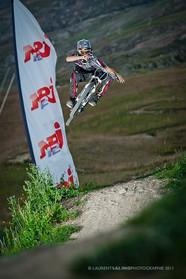 Downhill bike park Verbier