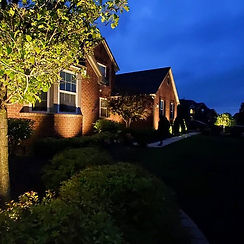 Beautiful home and Landscape Lighting