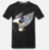 psychedelic art helm t-shirt schwarz von