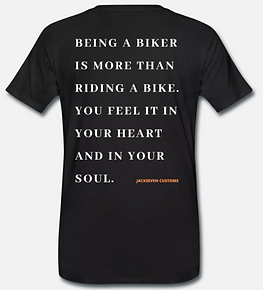 being a biker is more than riding a bike