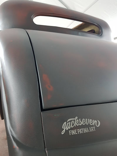 patina lackierung ford 34 linkes seitent