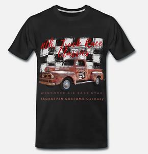 truck race classics t-shirt von jackseve