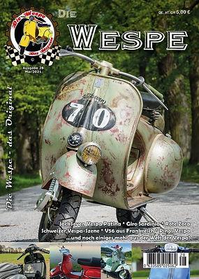 vespa patina jackseven Wespa Magazin sei