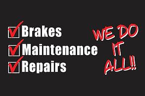 brake maintenance and brake repairs in san jose