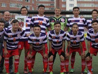 サッカーモンゴルリーグのオフィシャルソング『走れ!!Sumida』を歌います!