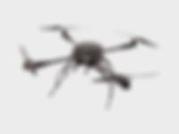 Black Quadcopter Drone