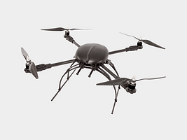 Black Quadcopter Drone