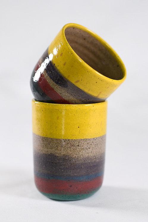 Art Deco Cup Set