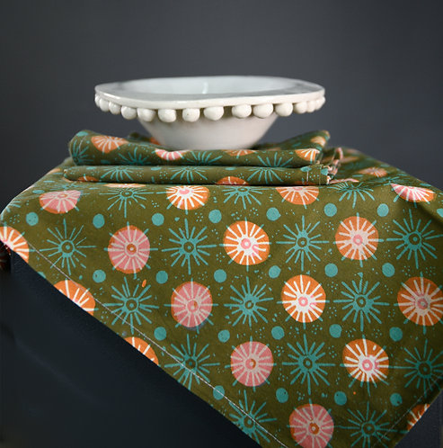 Batik Napkins Set 4