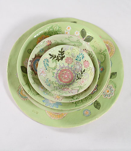 Plate and Bowl Set