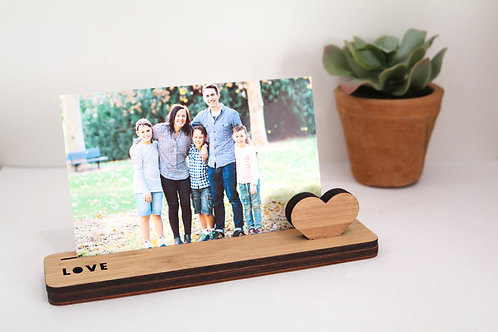 Photo Stand - Small - Love