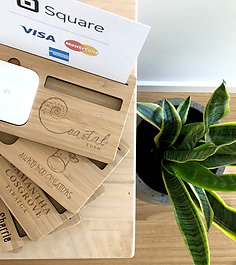 Personalised - Square Card Reader & Square Dock Stand