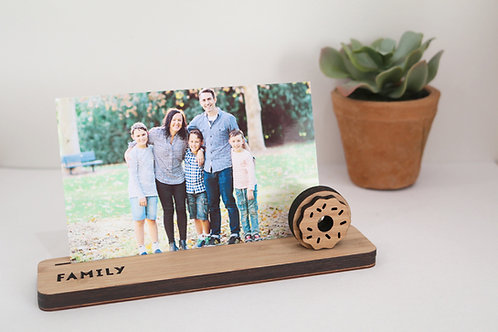 Photo Stand - Small - Family