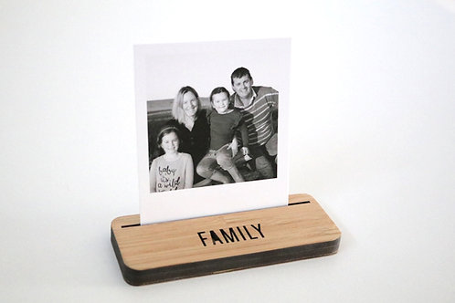 Photo Stand - Mini - Family