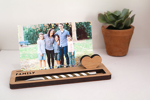 Photo Stand - Medium - Family