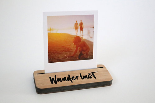Photo Stand - Mini - Wanderlust