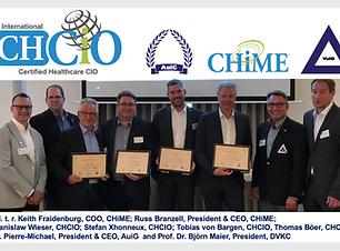 promedtheus Senior Berater Stefan Xhonneux ist erfolgreich zum Certified Healthcare CIO der CHiME zertifiziert worden
