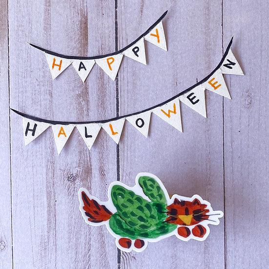 Parrot Cat Sticker