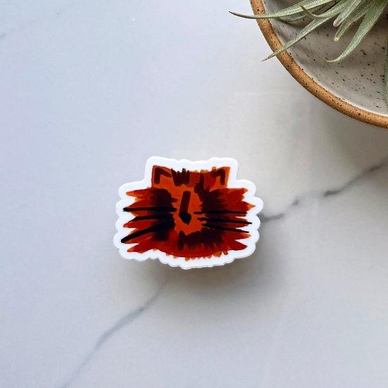 Stylized Tortie Sticker