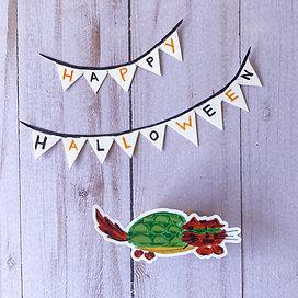 Turtle Cat Sticker