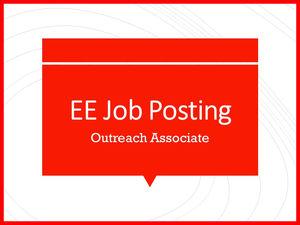 Outreach Associate for CHNEP