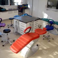 Salle soins cabinet orthodontie