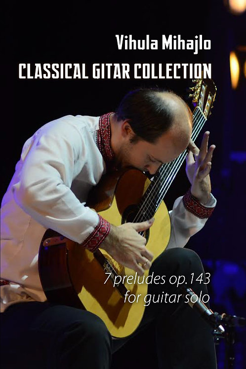 7 preludes for guitar