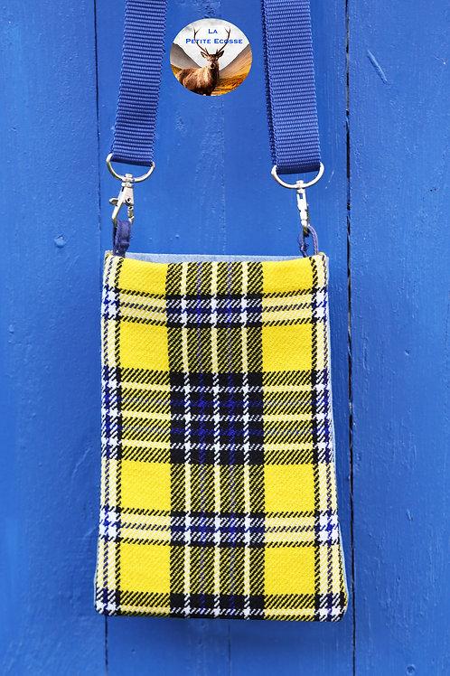 Sac Téléphone Portable. Style écossais