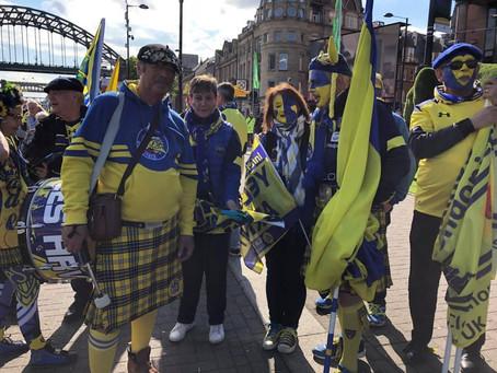 Nos kilts à Newcastle!!!
