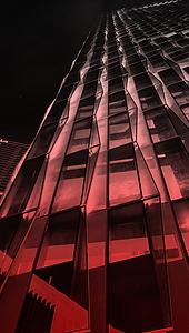 Arthaland Century Pacific Tower Facade Lighting Design