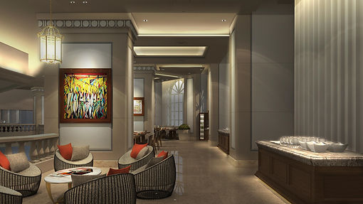 Manila Peninsula Lounge