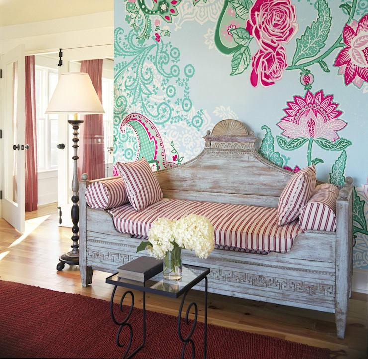 Papel pintado mural Foto vía Pinterest