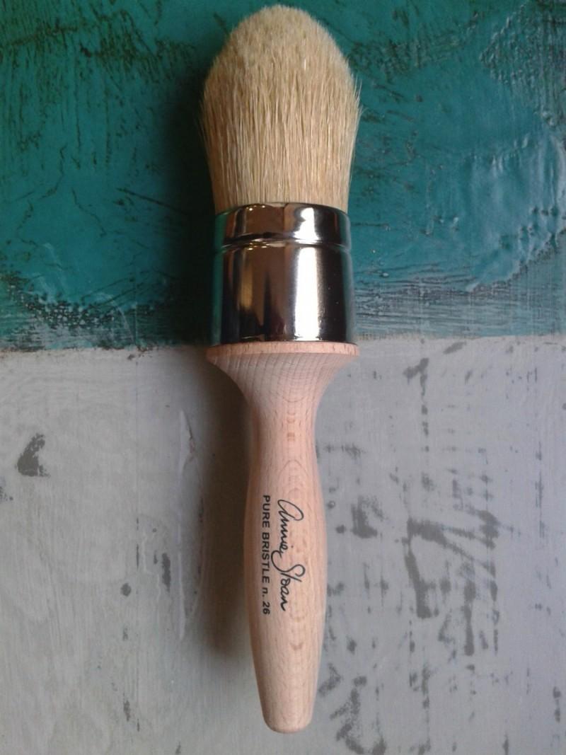 Brochas para la aplicación de cera - Soft Wax Clear, dark, white y black - TRATE Tienda Taller - Chalk Paint Annie Sloan