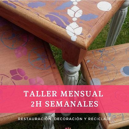 """Restaura y Recicla 2h (Agrega tu cupón """"Taller"""")"""