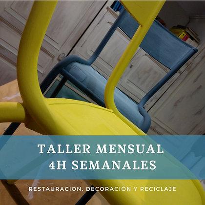 """Restaura y Recicla 4h (Agrega tu cupón """"Taller"""")"""