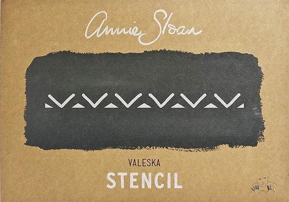 Valeska, A3 Stencil by Annie Sloan