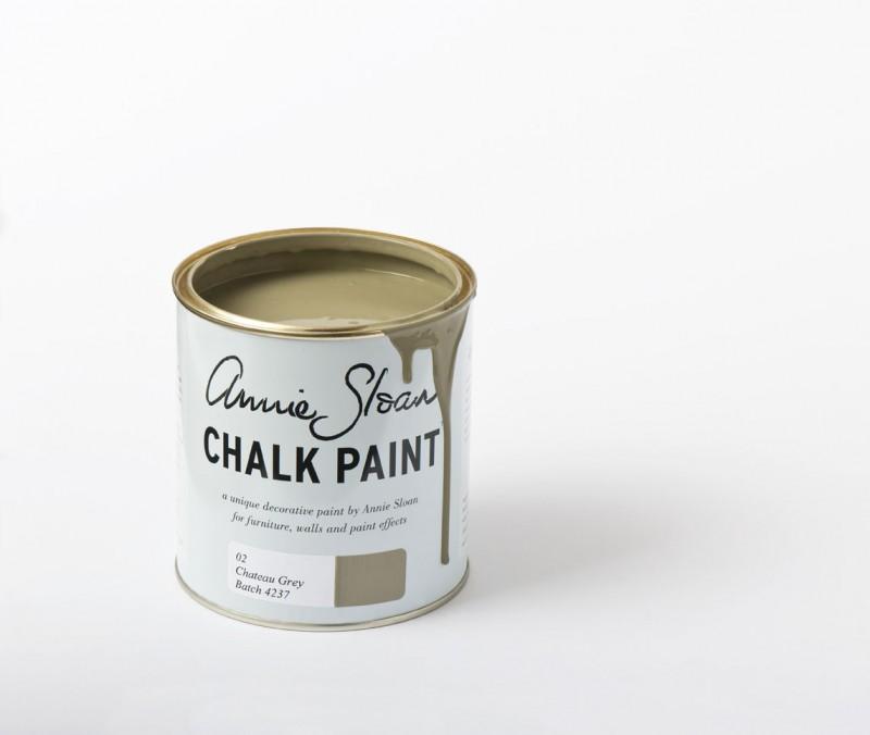 Un verdoso suave Chateau Grey de Chalk Paint Annie Sloan - TRATE Tienda Taller