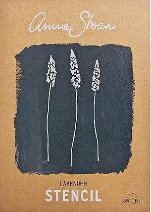 Lavender, A3 Stencil by Annie Sloan