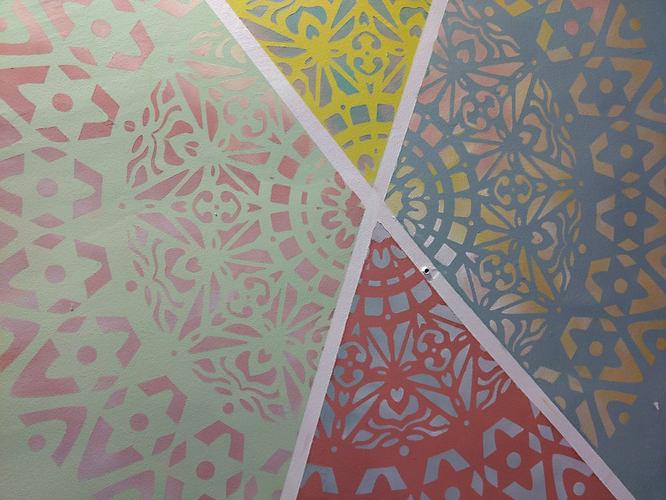 Técnica Decorativas en Stencil