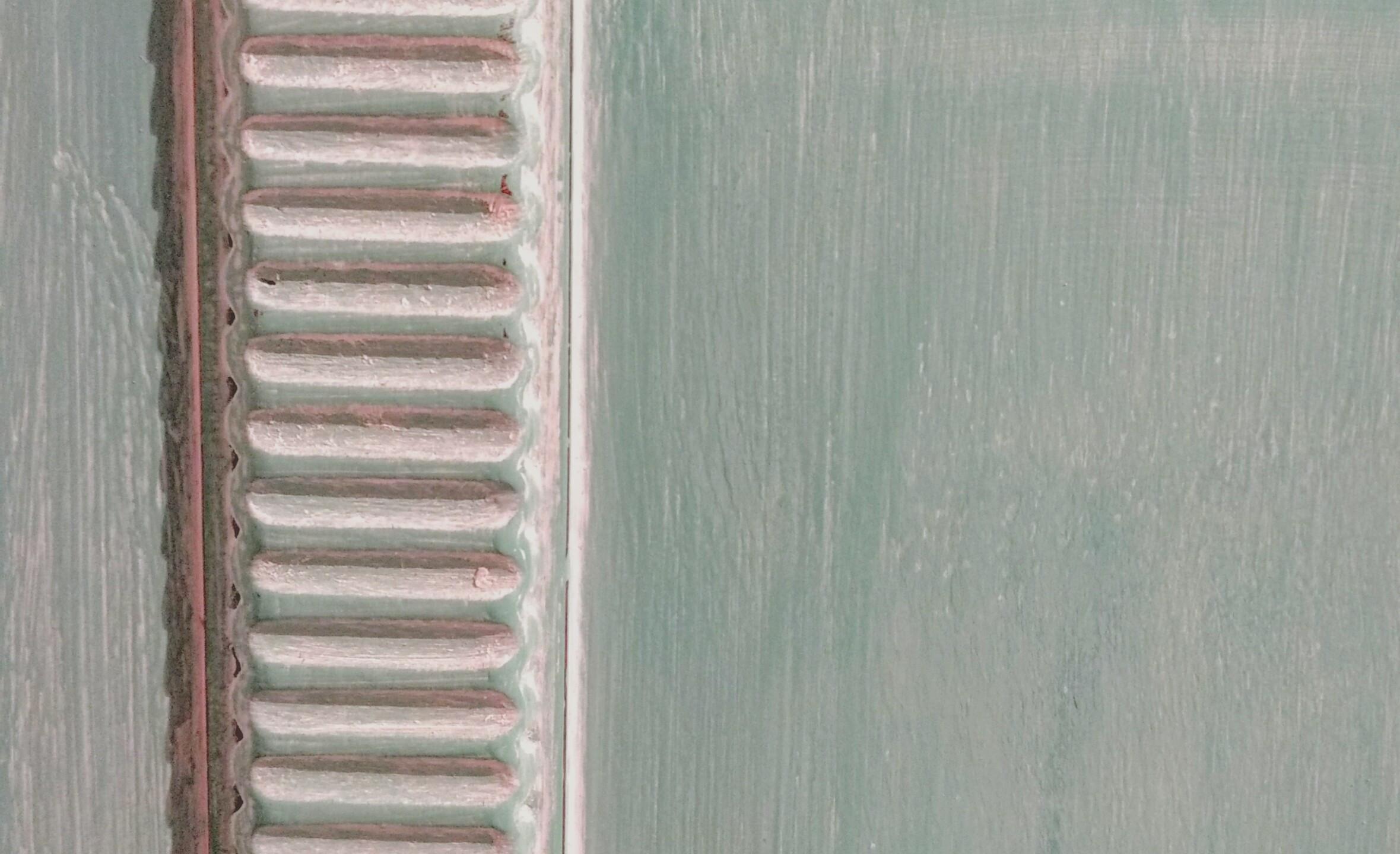 Fondo en Provence y acabado con ceras clara (Soft Wax Clear)