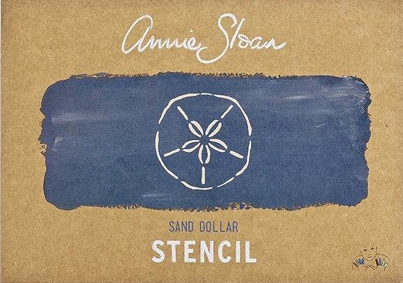 Sand Dollar, A4 Stencil by Annie Sloan