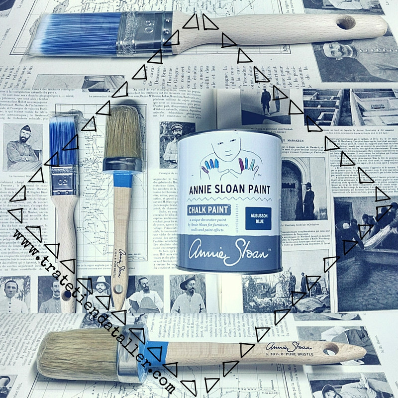 ¿Que tipo de brocha usamos para pintar con Chalk Paint Annie Sloan? Trate Tienda Taller