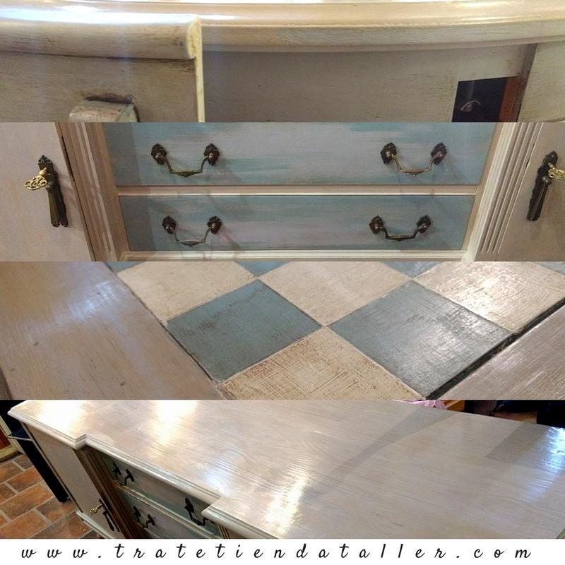 Curso práctico de Chalk Paint Home Staging - Trate Tienda Taller - Casas a punto Home Staging - Bilbao - Bizkaia
