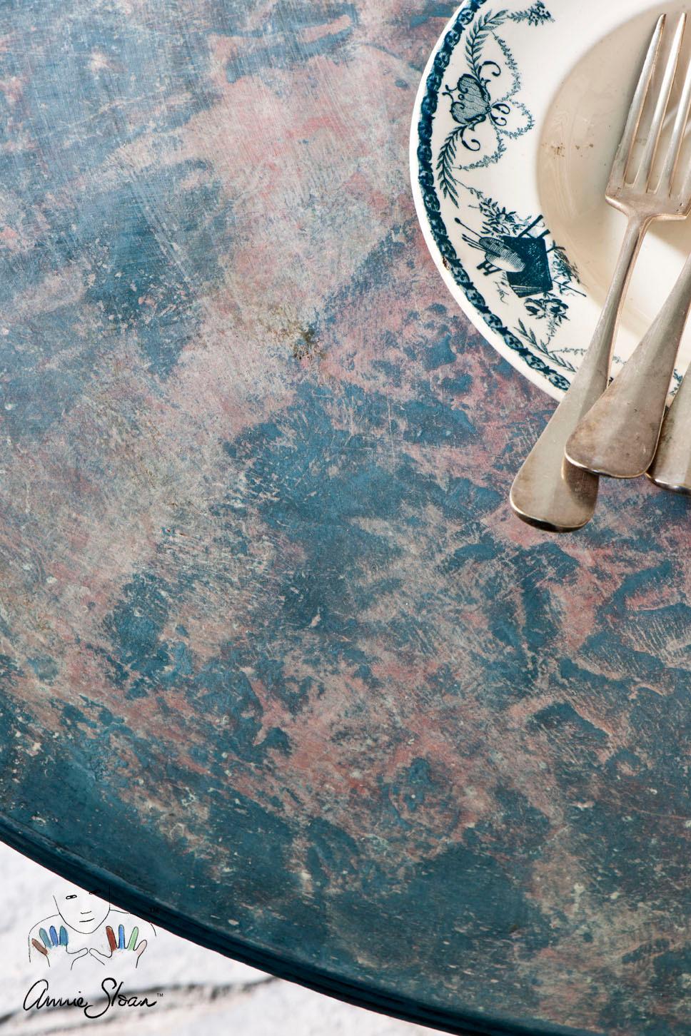 Frottage y Chalk Paint™ Annie Sloan -  http://anniesloanpaintandcolour.blogspot.com.es/