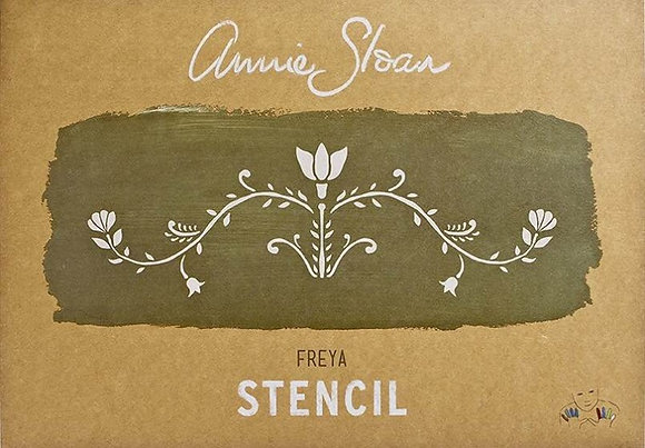 Freya, A3 Stencil by Annie Sloan