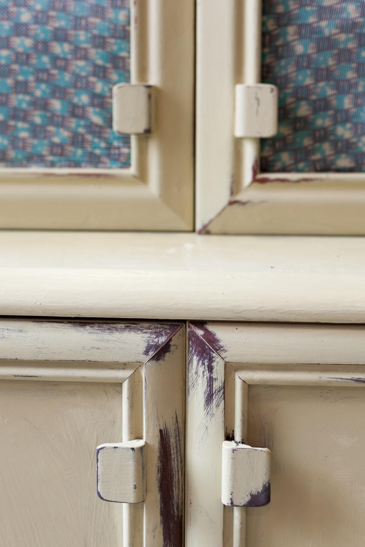 Detalle muebles pintado