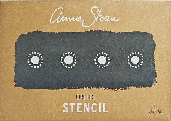 Circles, A3 Stencil by Annie Sloan