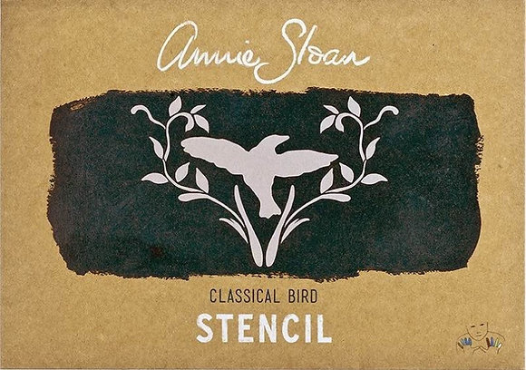 Classical Bird, A4 Stencil by Annie Sloan