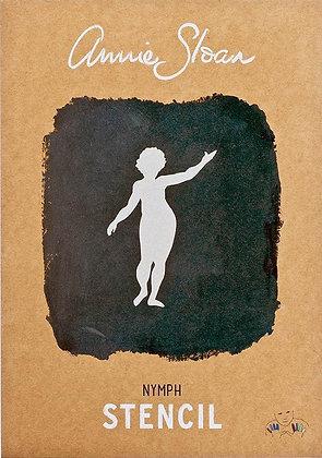 Nymph, A4 Stencil by Annie Sloan